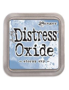 NEW! TIM HOLTZ DISTRESS® OXIDE® INK PAD STORMY SKY | Serendipity Craft Boutique