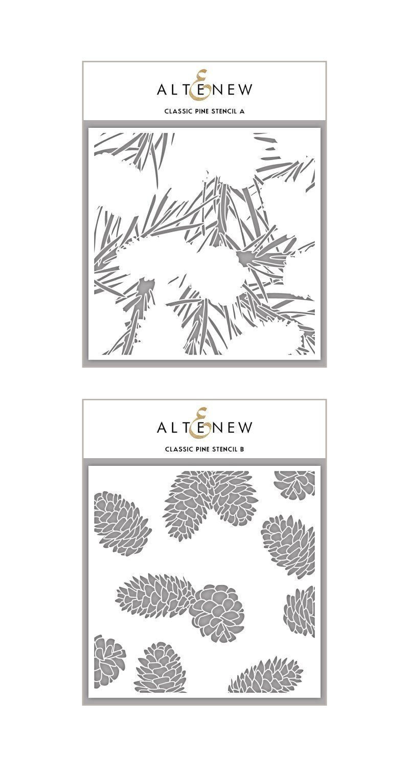 Altenew  Classic Pine Stencil Bundle Set | Serendipity Craft Boutique