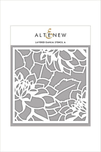 Altenew Layered Dahlia Stencil A | Serendipity Craft Boutique