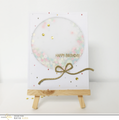 Studio Katia Dotted Balloons Creative Dies | Serendipity Craft Boutique