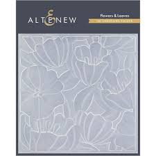 Altenew Flowers & Leaves 3D Embossing Folder | Serendipity Craft Boutique