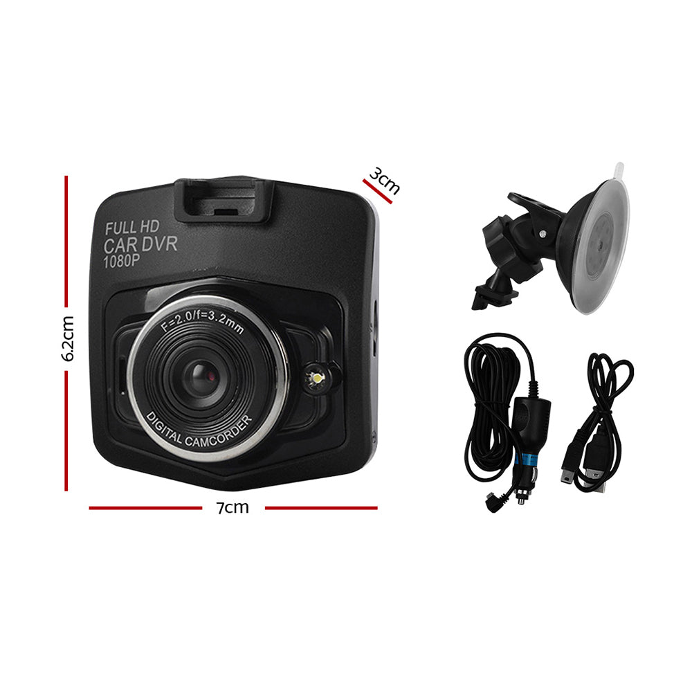 Dash Camera 1080p HD Car Cam Recorder DVR Vehicle Camera Night Vision WDR