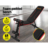 Everfit Adjustable FID Weight Bench Fitness Flat Incline Gym Home