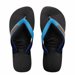 Havaiana Mix Thong (Black/Blue) - Junior