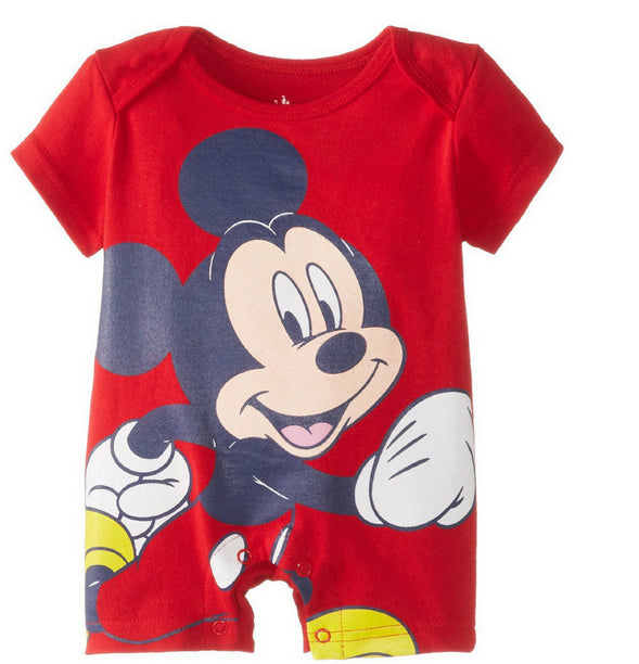 Summer Baby Rompers Cotton Baby Girl Clothes Mickey Baby Boy Clothes Newborn Baby Clothes Roupas Bebe Infant Jumpsuits