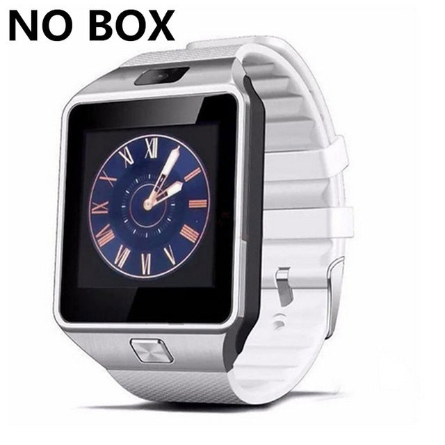 SZMDC Smart Watch DZ09 Support SIM TF Cards For Android IOS Phone Children Camera Women Bluetooth Watch With Retail Box Russia