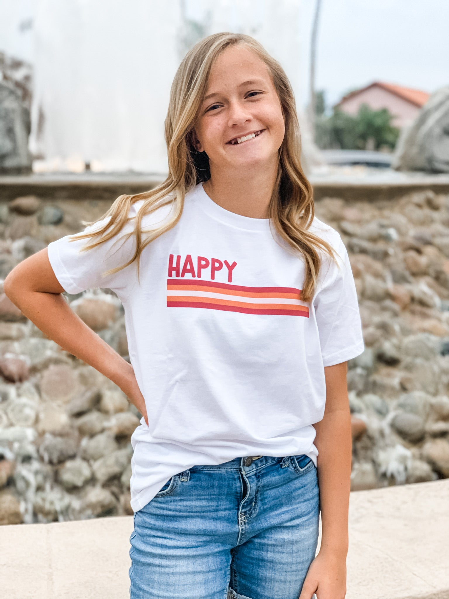 HAPPY FIJI kids tee