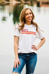 HAPPY FIJI adult tee