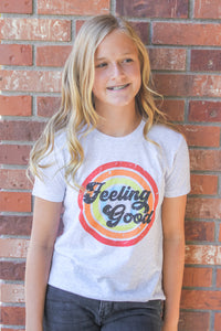 FEELING GOOD kids tee