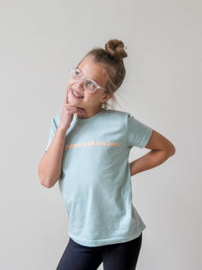 TREAT PEOPLE WITH KINDNESS kids tee