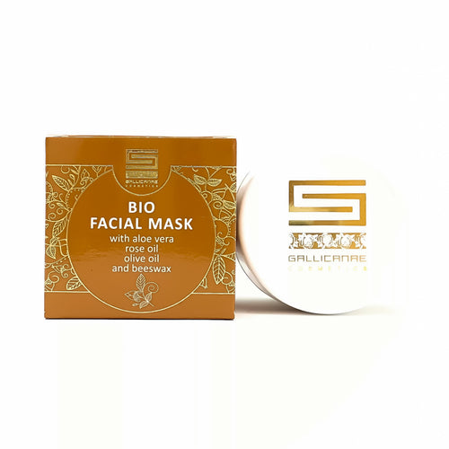 Bio Facial  mask with aloe vera, rose oil, beeswax
