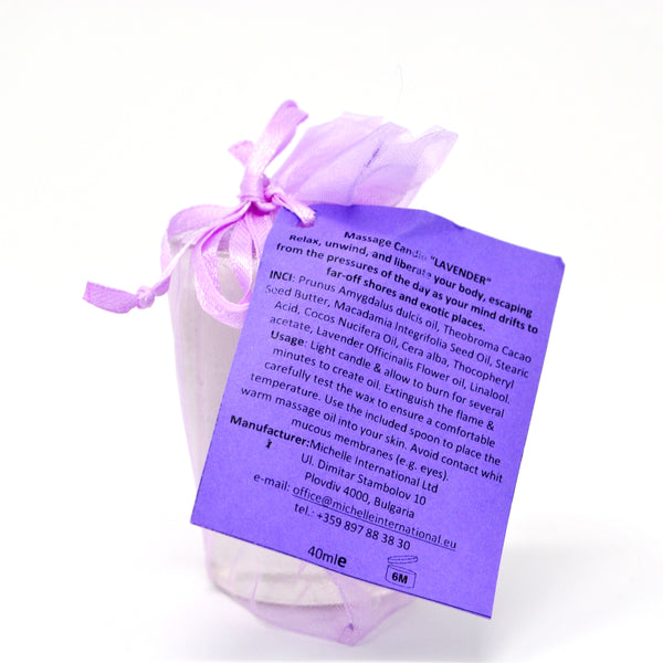 HOT MASSAGE CANDLE LAVENDER