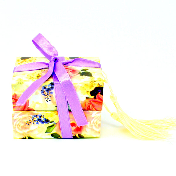 "Handmade Glycerin Soap ""Rose & Lavender"" – Dani. Rosehip, Lemon and Ilang Ilang Oil Soap Bar."