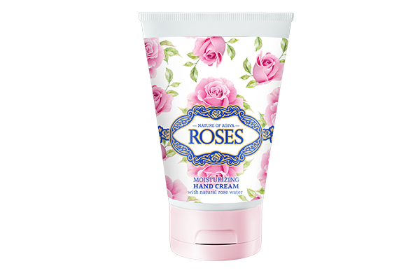 HYDRATING HAND CREAM WITH NATURAL ROSE EXTRACT for smooth skin 100 ml