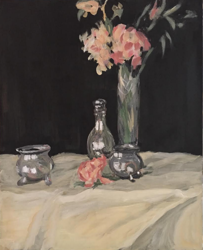 Vase and Carnations (after J.D. Fergusson)