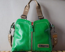 Split Look Sling Satchel