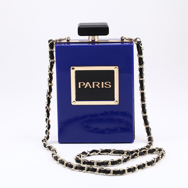 Paris Perfume Shoulder Bag