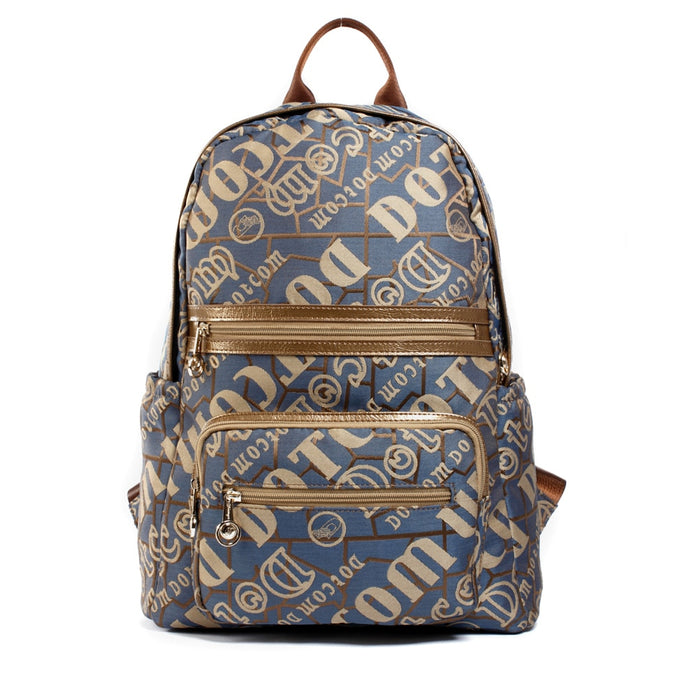 Letter Print Backpack