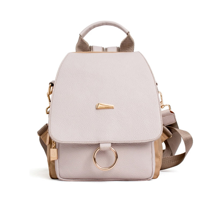 Retro Leisure Ring Backpack