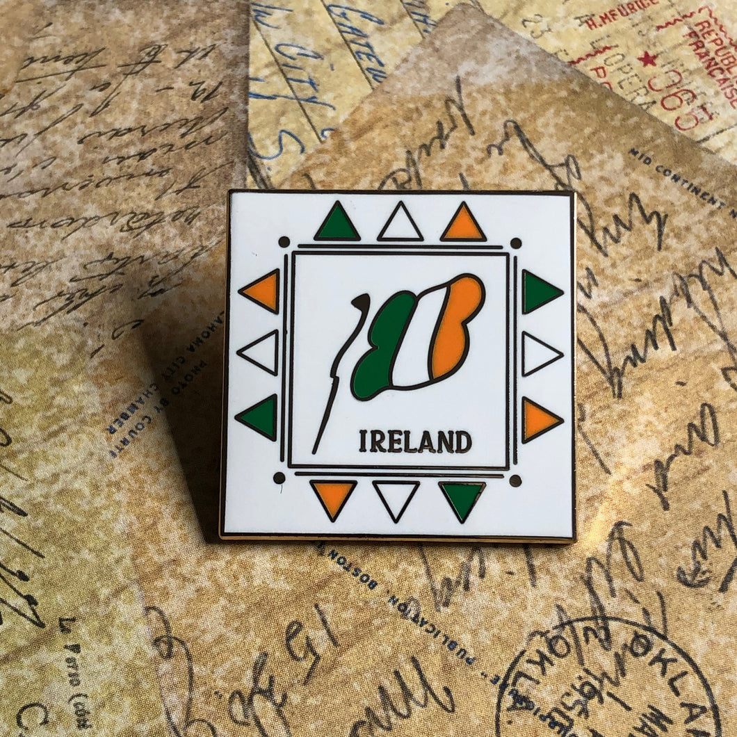 Ireland Flag Collectible Pin