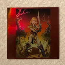 "HOLOGRAM - 3x3"" Sticker - Viking Warrior"