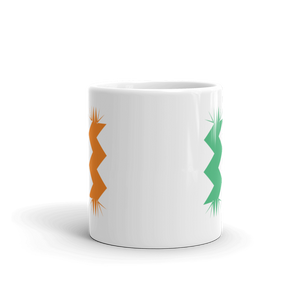 Ireland Flag Mug - Retro