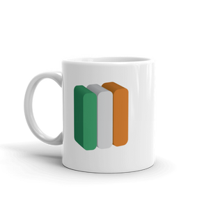 Ireland Flag Coffee Mug | 3D Block
