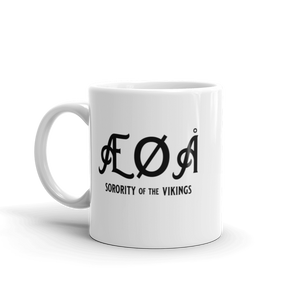 Norwegian Coffee Mug | ÆØÅ Sorority of the Vikings