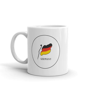 German Flag Circle | Mug