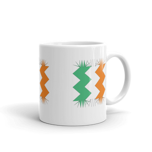 Ireland Flag  Coffee Mug Retro All Around