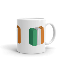Ireland Flag Coffee Mug | 3D Block 02