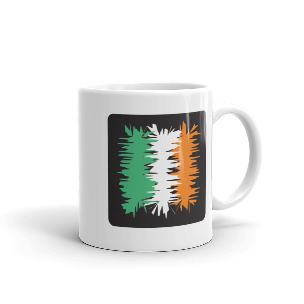 Ireland Flag Coffee Mug | Electric 02