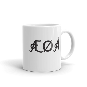Norwegian Coffee Mug | ÆØÅ - fancy