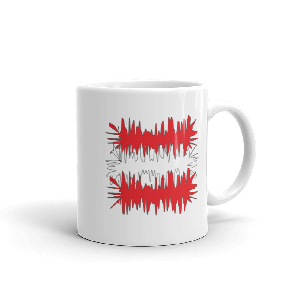 Austria Flag Electric 01 | Mug