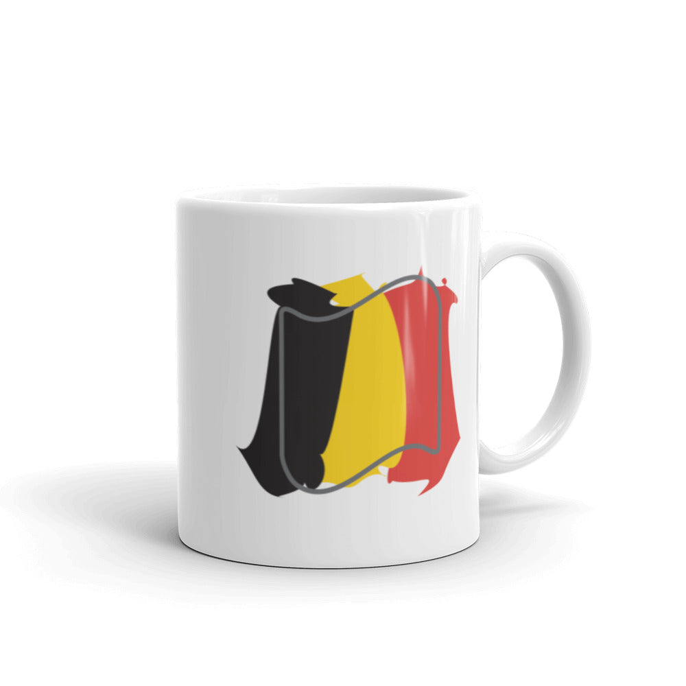Belgium Flag Splash | Mug