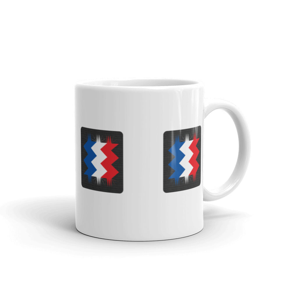 France Flag Retro 02 Textured All Around | Mug