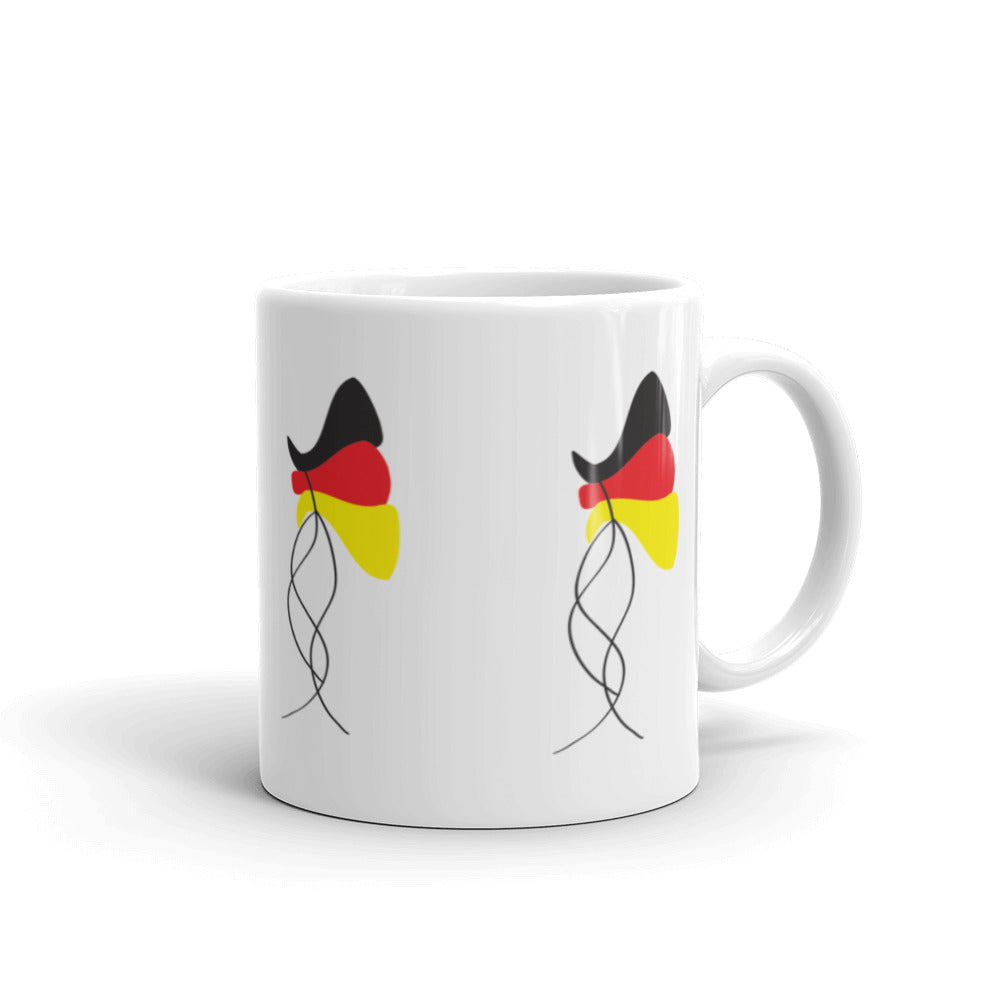 German Flag Balloons All Around | Mug