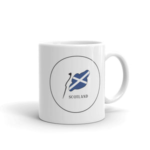 Scotland Flag Cirlce | Mug