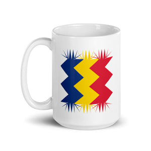 Romania Flag Retro 01 | Mug