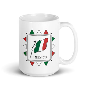 Mexico Flag Square | Mug
