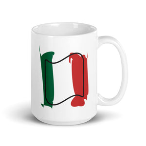 Mexico Flag Spash | Mug