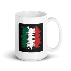 Mexico Flag Electric 02 | Mug