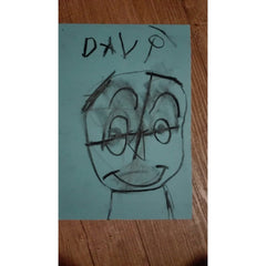 Davi's Portrait by Clara Woods