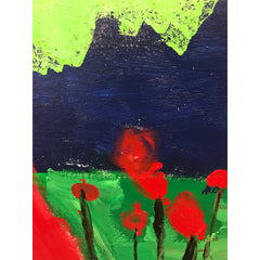 Poppies by Clara Woods