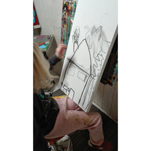 Clara Woods and her sketchs for Mummys House