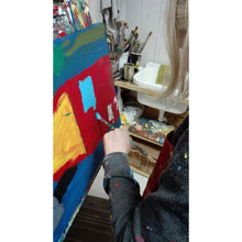 Clara Woods painting Mommys house details 2