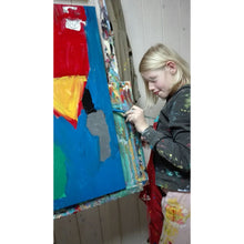 Clara Woods painting Mummys House details