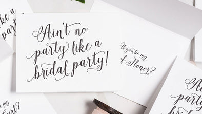 Our Favorite Bridesmaid Cards