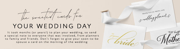 Wedding Day Cards