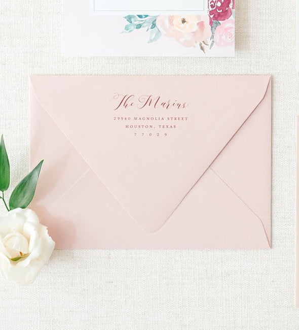 Envelope Color Upgrade